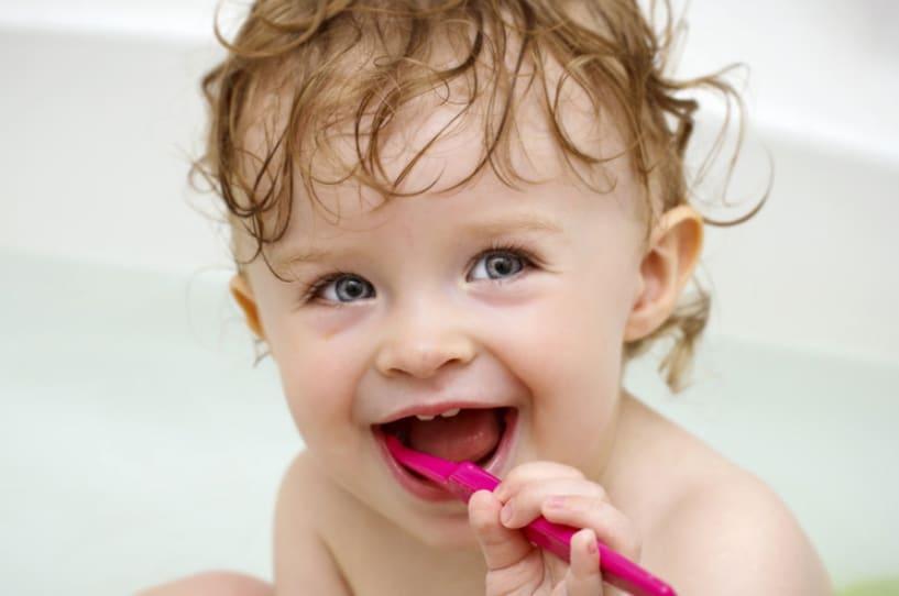 Млечни зъби, орална хигиена