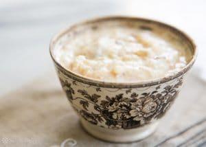 Оризов пудинг за закуска