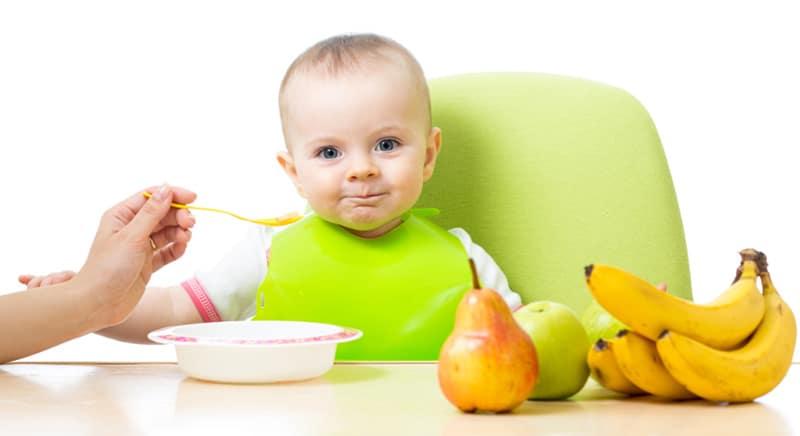 храни за бебета без зъби - плодове