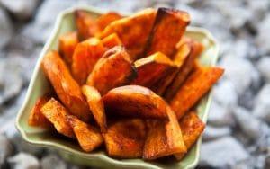 Хапки от сладки картофи