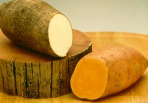 Домашно приготвени зеленчукови пюрета за бебе - Ямс / сладки картофи